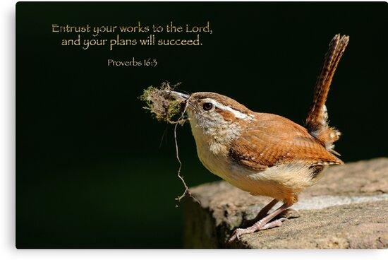 Entrust your works to the Lord . . . by Bonnie T.  Barry
