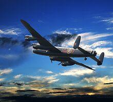 Lancaster Bomber by John Hooton