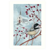 Winter Scene I Art Print