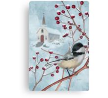Winter Scene I Canvas Print