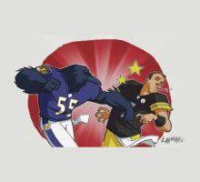 Ravens vs Steelers by L & R Hannah