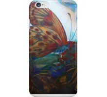 Mixed media: Regarding Lepidoptera iPhone Case/Skin
