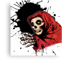 CRIMSON GHOST COLORED Canvas Print