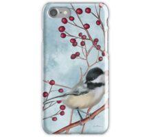 Chickadee I iPhone Case/Skin
