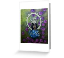 Immaculate concepcion IV Greeting Card