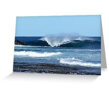 Heavy Water Greeting Card