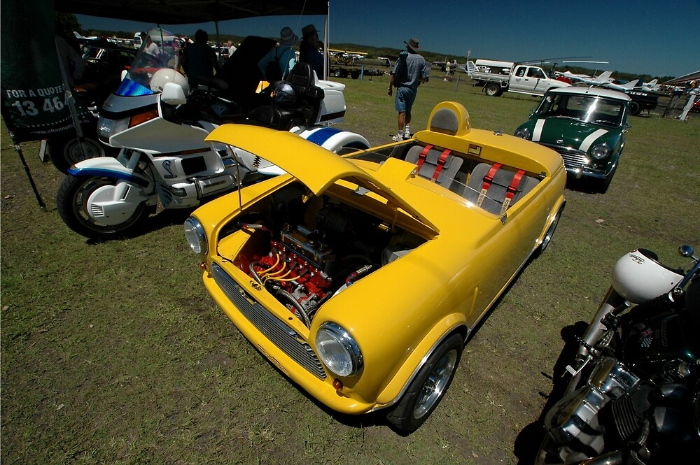 Little Yellow Taxi, Evans Head Fly-In, NSW by muz2142