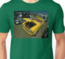 Little Yellow Taxi, Evans Head Fly-In, NSW Unisex T-Shirt