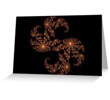 Spiraling Universe Greeting Card