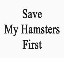 Save My Hamsters First  by supernova23