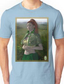Dymphna-Celtic Princess Unisex T-Shirt