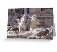 Trevi Fountain Rome Greeting Card