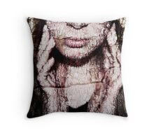 A Whisper of Earth and Spirit Throw Pillow