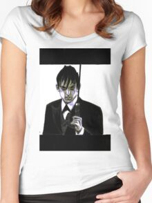 Gotham Oswald Cobblepot Robin Lord Taylor Women's Fitted Scoop T-Shirt