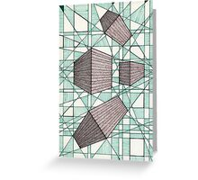 079 - PERSPECTIVE DESIGN - DAVE EDWARDS - INK - 1998 Greeting Card