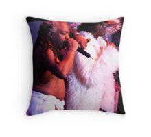 Sir Nose of the Parliament Funkadelic Throw Pillow