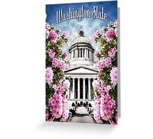 Washington State Capitol Greeting Card
