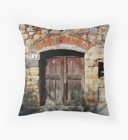 Near Siena Throw Pillow