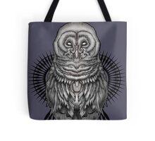 Geo Owl Tote Bag