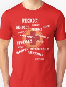 Press 'E' For Medic- RED Unisex T-Shirt