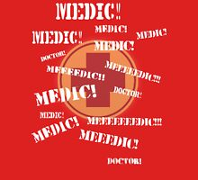 Press 'E' For Medic- RED T-Shirt