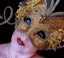 Venician mask by Daniella
