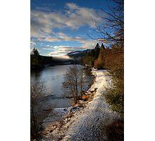 Winter in Dunkeld Photographic Print