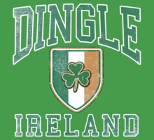 Dingle, Ireland with Shamrock by Greenbaby