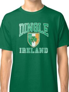 Dingle, Ireland with Shamrock Classic T-Shirt