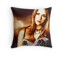 Clubbing Again Throw Pillow