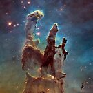 Eagle Nebula - The Pillars of Creation by flashman