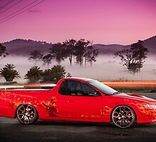 Kim Smith's VY Holden Commodore Ute 'Wildfire' by HoskingInd