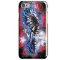 biomechanical mammoth in the cosmos iPhone Case/Skin
