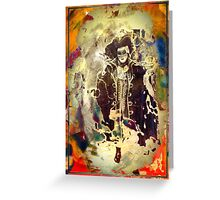 He's the Dandy Highway Man or is he Prince Charming?  Masked Ball 3 Greeting Card