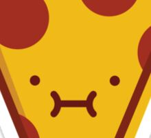 Pepperoni Pizza Slice - I'm Stuffed! Sticker