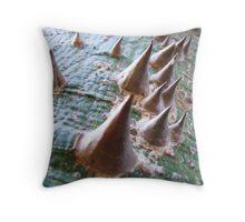 tree barnacles Throw Pillow
