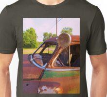 Rust and chrome Unisex T-Shirt