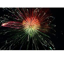 Firework Composition Photographic Print
