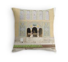 Golestan Palace located in the Center of Tehran Throw Pillow
