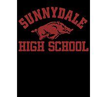 Sunnydale High Razorbacks Photographic Print