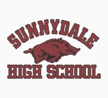 Sunnydale High Razorbacks Kids Clothes