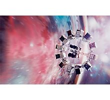 Interstellar- Endurance/Space Skins Photographic Print