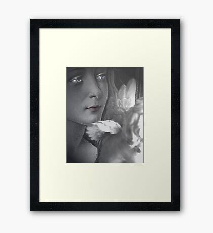 The Flapping of Wings Framed Print