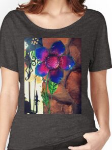 Bright Metal Flower 1.1 Women's Relaxed Fit T-Shirt