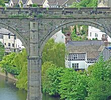 Knaresborough With Bridge by TimHatcher