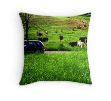 almost missed you Throw Pillow