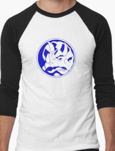 Triceratops! Men's Baseball ¾ T-Shirt