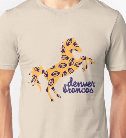 denver b r o n c o s  Unisex T-Shirt