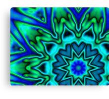 bloo petals Canvas Print
