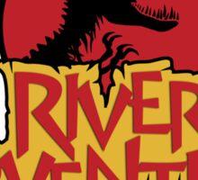 Jurassic Park River Adventure Sticker